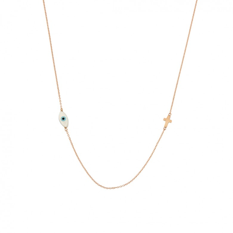 9KT ROSE GOLD NECKLACE NECKLACE