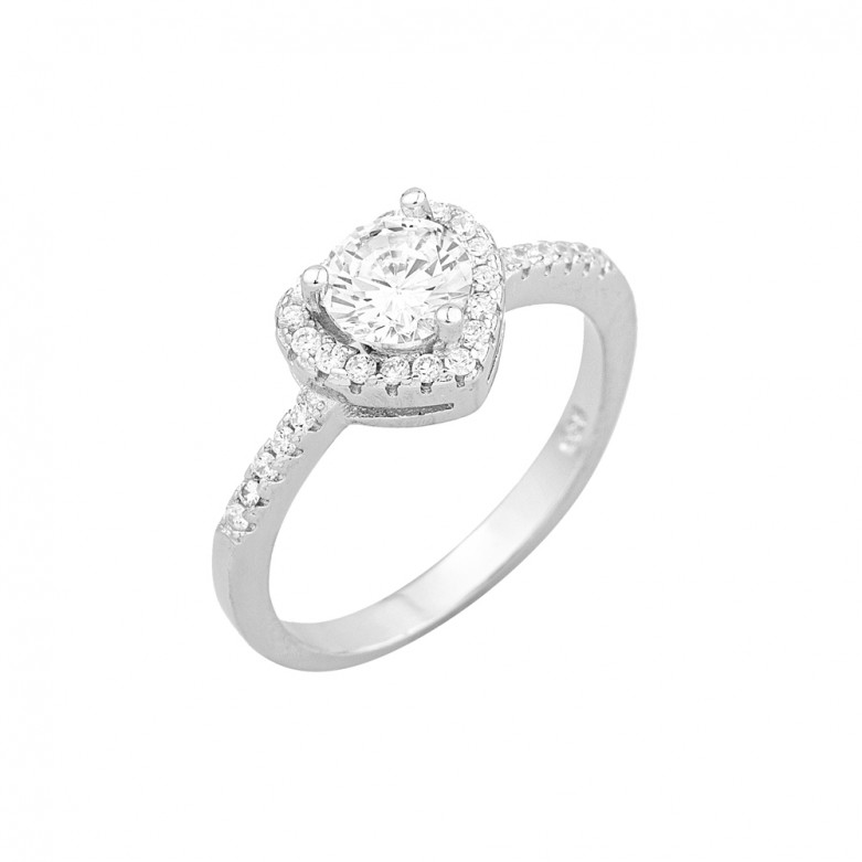 STERLING SILVER 925° CZ RING RINGS