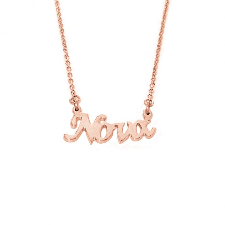 Sterling silver 925°. Godmather necklace on chain